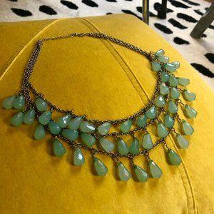 Francesca Necklace tassels stones